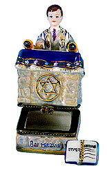 Miniature Keepsake Box - Bar Mitzvah