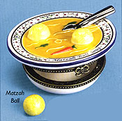 Chicken Soup & Matzah Ball Keepsake Box