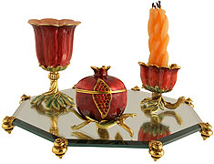 Exquisite Pomegranate Hadallah Set