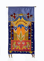 Jerusalem Wall Hanging - Multi Colors