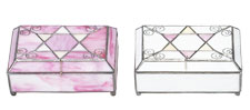 Stained Glass Rectangle Jewelry Boxes