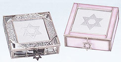 Stained Glass & Metal Jewelry Boxes