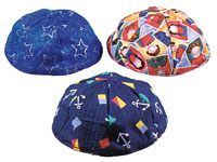 Lined Kippot - Customer Fabric