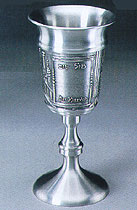 Pewter Bat Mitzvah Cup