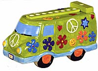 Ceramic Peace Van Menorah