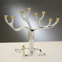 High End Tree of Life Menorah - Large