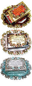 Victorian Match Box Collection - Candle Prayer