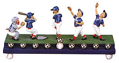Baseball Players Menorah