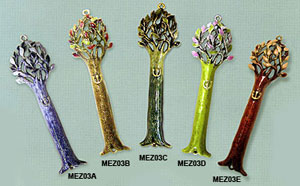 Tree of Life Mezuzah Collection