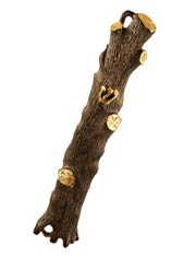 Tree Trunk Mezuzah