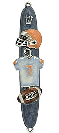 Football Mezuzah Cover