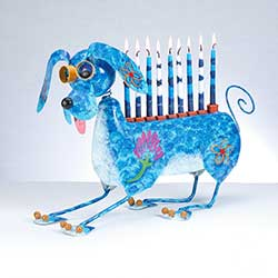 MUTTEL the Dog Menorah