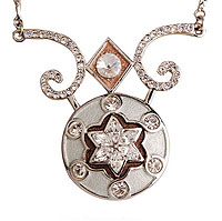 Margalite (Diamond) Star Necklace