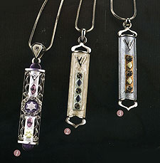 Luxurious Mezuzah Necklaces