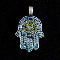Beaded Hamsa Necklace