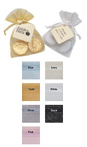 Personalized  Organza Chocolate Favor Sack