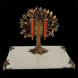 Presentational Tree of Life with Scroll