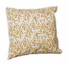 Passover Matzah Pattern Pillow