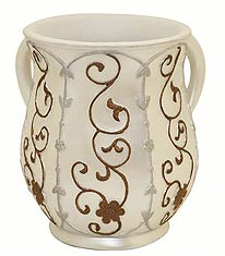 Pearl White Wash Cup