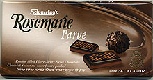 Schmerling Swiss Chocolate Bar - Rosemarie Dark