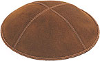 Suede Kippot - Luggage