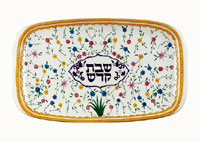 Ceramic Shabbat Tray