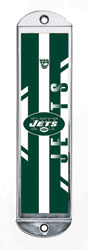 Metal Mezuzah Cover - Jets