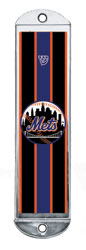 Metal Mezuzah Cover - Mets