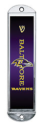 Metal Mezuzah Cover - Baltimore Ravens