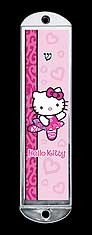 Metal Mezuzah Cover - Hello Kitty Ballet