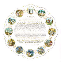 Ketubah - Seasons of the Soul