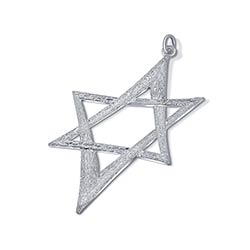 Sterling Silver X Large Star of David
