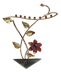 Gary Rosenthal Art Menorah - Nature