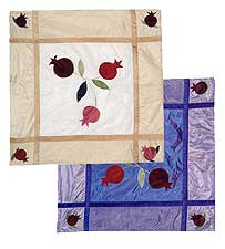 Square Silk Table Covers - Machine Washable