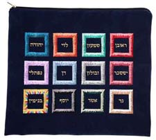 Ultra Suede Tallit Bag - Choshen