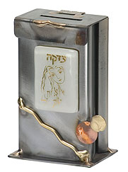 Gary Rosenthal Tzedakkah Box - Woman Of Valor