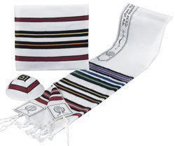 Tallit ''Bnei Ohr'' - Multi Colors
