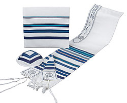 Tallit ''Bnei Ohr'' - Blue Colors