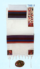 Emanuel Embroidered Tallit Set - Matriarchs in Color
