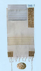 Emanuel Embroidered Tallit Set - Matriarchs in Gold
