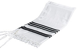 Tallit Wool HaMeshubach - Special Light Weight