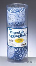 Hanukkah Juggling Balls - Set of 3