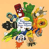 Plush Finger Puppet 10 Plagues