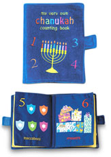My Chanukkah Soft Counting Book