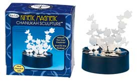 Kinetic Magnetic Hanukkah Sculpture