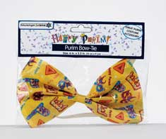 Fabric Purim Bow Tie