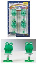 Passover Pop-Up Frogs - Set of 6