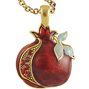 Jeweled Pomegranate Necklace