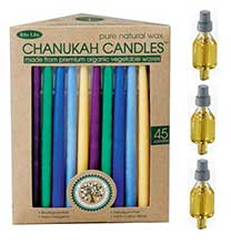 Candles, Oil & Menorah Bulbs