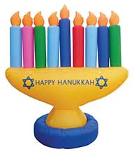 Hanukkah Decorations & Inflatables